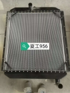 厦工6M散热器  中冷器油散
